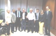 Em reunião com o vice-governador, Sindicato busca solução para servidores do SLU