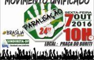 Movimento Unificado - Paralisação 24h