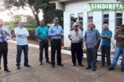 Reunião no Distrito do SLU de Brazlândia