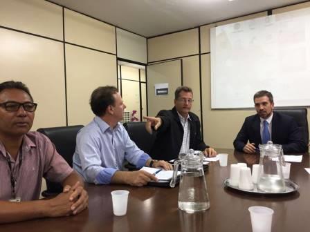 Reunião com Secretário de Saúde do DF
