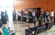 Reunião com os músicos da Orquestra Sinfônica