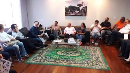 Reunião com o vice-governador