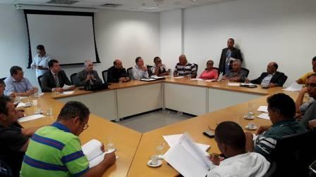 Reunião com o deputado distrital Wellington Luiz