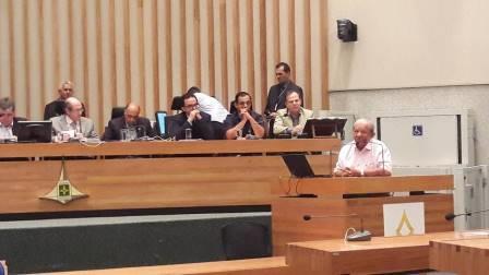 Audiência Pública na Câmara Legislativa